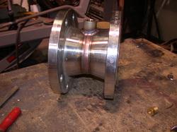 Refinery stainless steel plumbing