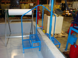 Railings for refinery pit