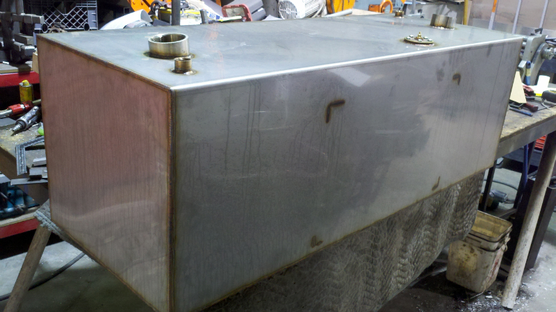 316 stainless steel fuel tank