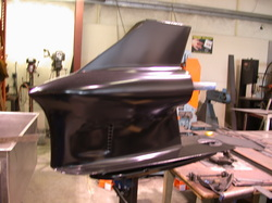 Outdrive nose cone